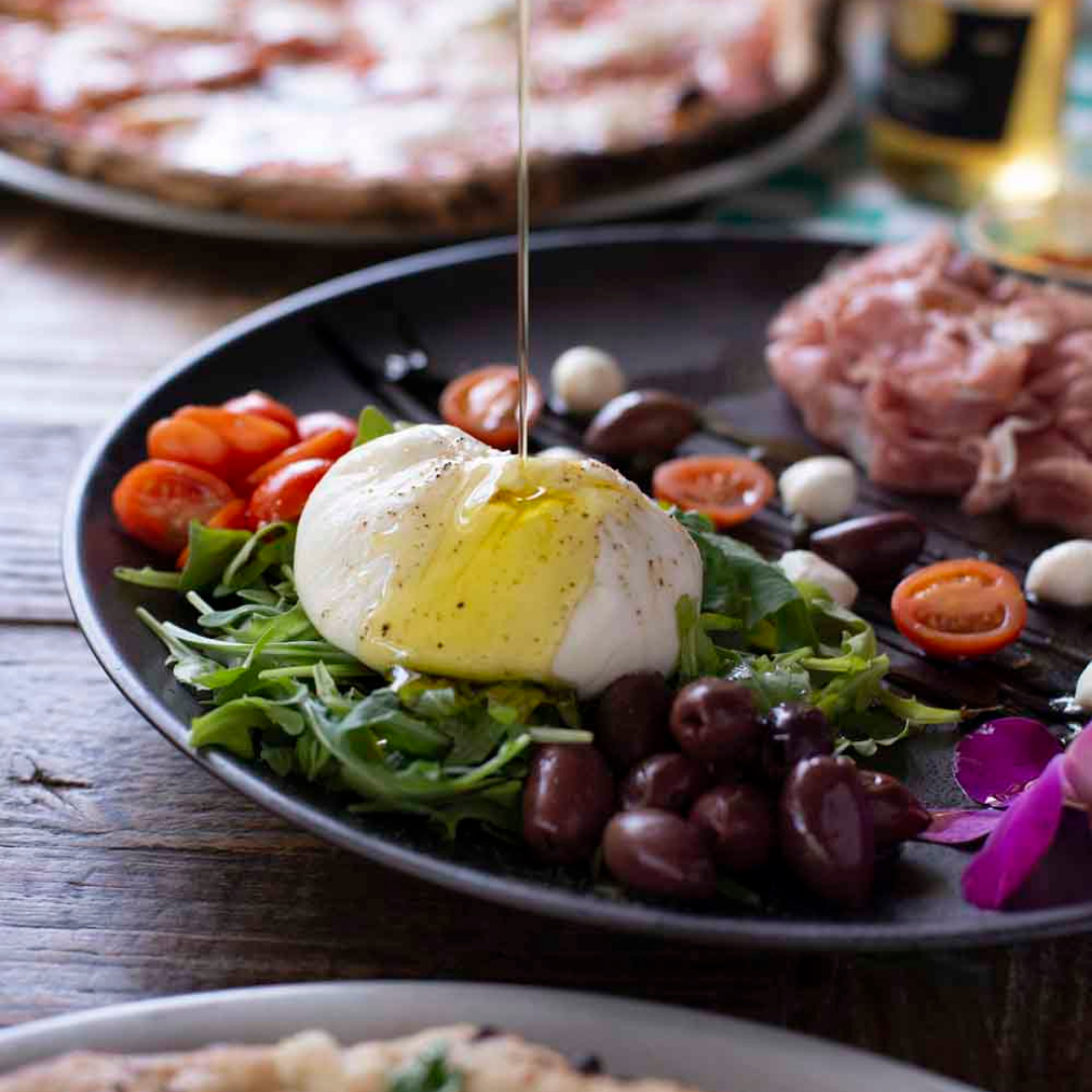 Introduction to antipasti by La Piazzetta
